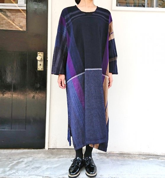 tamaki niime  fuwa-T ALL wool×cotton