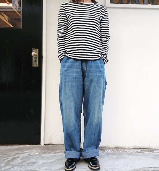 Ordinary fits  PAINTER PANTS USD