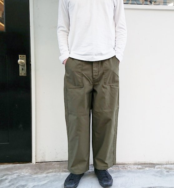 Ordinary fits  JAMES PANTS KHK (Men's)