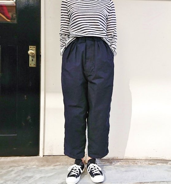 Ordinary fits  NARROW BALL PANTS one wash IND