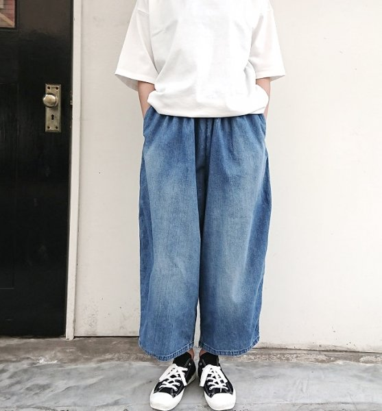 Ordinary fits  BALL PANTS denim used