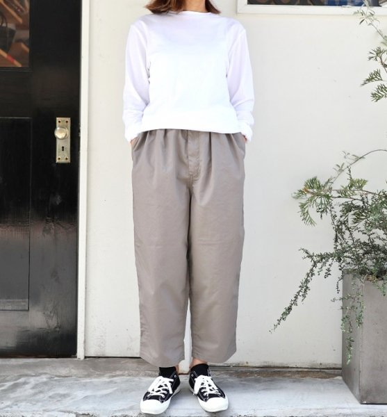Ordinary fits  NARROW BALL PANTS (ECR/BLK/GRY)