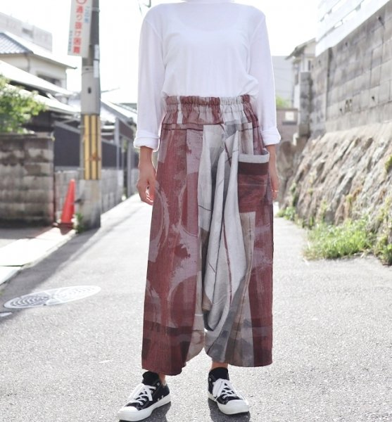 tamaki niime tarun pants long cotton