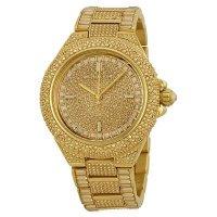 5afebb87fa1c 【ゴージャス】正規品 Michael Kors マイケルコース Camille カミーユ 腕時計 レディース MK5720 ゴールド スワロ