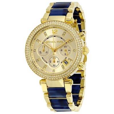 e25af6b45921 アンティーク調】Michael Kors マイケルコース PARKER パーカー 腕時計 ...