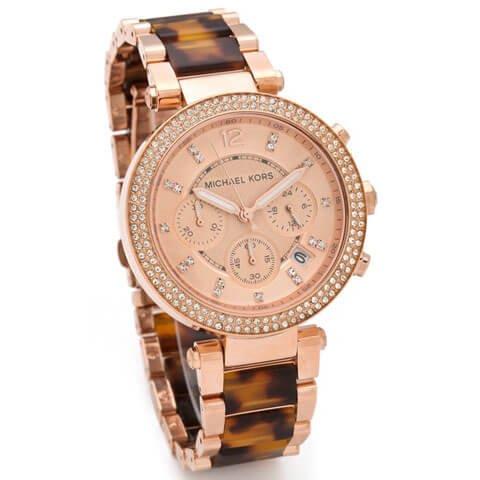 035b34407531 プレゼント最適☆Michael Kors マイケルコース PARKER パーカー 腕時計 ...
