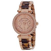 290905374234 【プレゼントに選ばれる】正規品 Michael Kors マイケルコース PARKER パーカー 腕時計 レディース