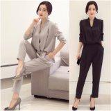 オールインワン サロペット 長袖 セットアップ セレブ 韓国 韓流 ファッション カラバリ4色