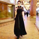 セレブ風のナイトドレスが欲しい方に 大人コーデを楽しめる上品なマキシワンピース シックなロングドレス
