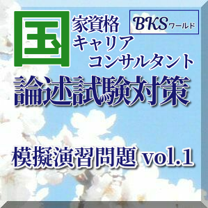 KK402 国家キャリアコンサルタント試験 実技論述 模擬試験 演習問題 vol.1