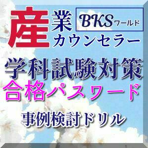 SS010 産業カウンセラー学科2試験対策 事例検討ドリル