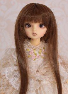 7インチ姫カット(クラシックショコラ)