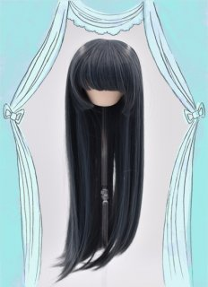 姫カット(ブルーグレー)