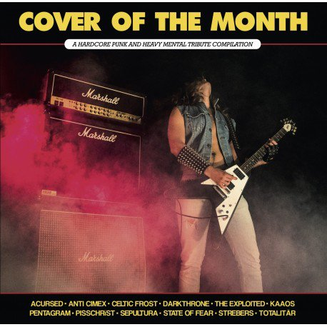 paranoid cover of the month lp revenge records