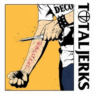"""TOTAL JERKS """"Life Is Hate"""" CD"""