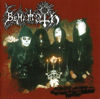 "BEHEMOTH  ""Malignant Temple Of Goat: 1992-1993"" CD"