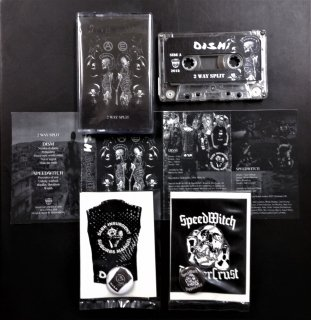 DISM / SPEED WITCH - SPLIT TAPE (w. STICKER / PIN BADGE)