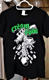 CREAM SODA T-SHIRT (LS, S, M)
