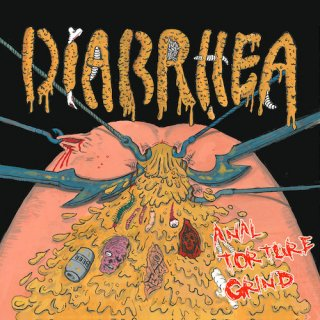 "DIARRHEA ""Anal Torture Grind"" CD"