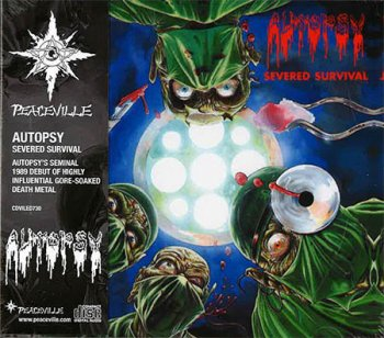 "AUTOPSY ""Severed Survival"" CD (REISSUE, with OBI)"