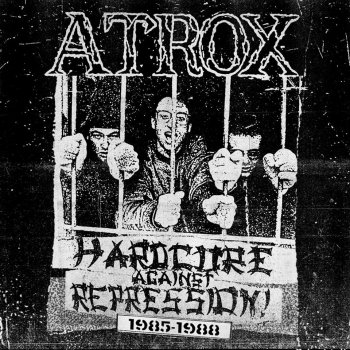 "ATROX ""Hardcore against repression 1985-1988"" LP+CD (Ltd.100 DIE HARD SWIRL PLUS YELLOW VINYL)"