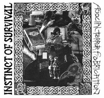 ASOCIAL TERROR FABRICATION / INSTINCT OF SURVIVAL - SPLIT LP
