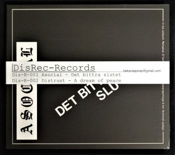 "ASOCIAL ""Det Bittra Slutet"" CD (Ltd. 500、HAND NUMBERED、DIGI-PACK w. OBI)"