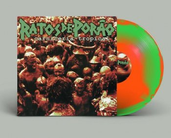 "RATOS DE PORAO ""Carniceria Tropical"" LP (Ltd.150  DIE HARD SPLATTER VINYL)"