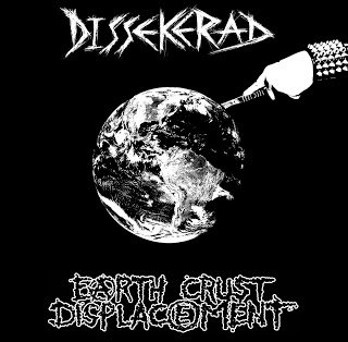 DISSEKERAD / EARTH CRUST DISPLACEMENT - SPLIT EP (Ltd. 300)