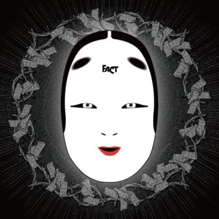 FACT - 公式グッズ 能面 (白色) / noh mask white viesion