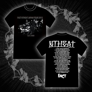 FACT - 公式Tシャツ / KTHEAT TOUR 2015 T-SHIRTS (BLACK)