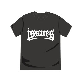ISSUES - 公式Tシャツ Death Metal Logo Japan Tour viesion (charcoal gray)