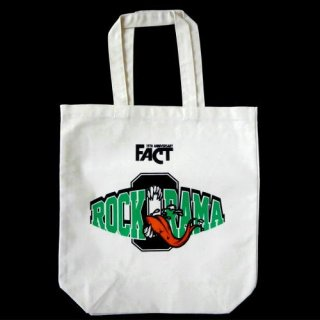 FACT - 公式トートバッグ / Rock-O-Rama 2014 TOTE BAG(natural)