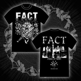 FACT - 公式Tシャツ / FEEL IT NOW T-SHIRTS (BLACK)