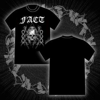 FACT - 公式Tシャツ / SKULL T-SHIRTS (BLACK)