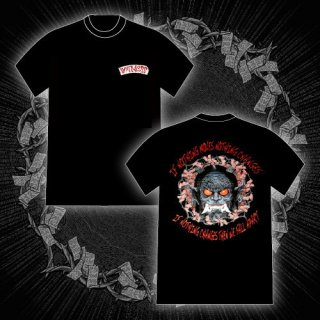 FACT - 公式Tシャツ / ONI WITNESS T-SHIRTS (BLACK)