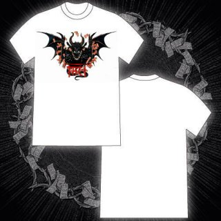 FACT - 公式Tシャツ / SITTING DEMON T-SHIRTS (WHITE)