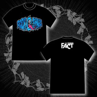 FACT - 公式Tシャツ / Rock-O-Rama 2014 T-SHIRTS (BLACK・BLUE)