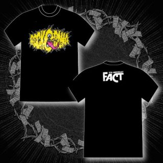 FACT - 公式Tシャツ / Rock-O-Rama 2014 T-SHIRTS (BLACK・YELLOW)
