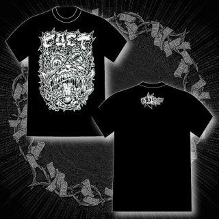 FACT - 公式Tシャツ / VOLCOM FRONT PRINT T-SHIRTS (BLACK)