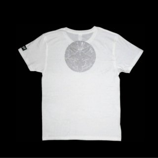 FACT - 公式Tシャツ / TATTOO T-SHIRTS (WHITE)
