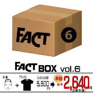 FACT - Box vol.6(FACTグッズ 限定セット/2400)<img class='new_mark_img2' src='https://img.shop-pro.jp/img/new/icons29.gif' style='border:none;display:inline;margin:0px;padding:0px;width:auto;' />