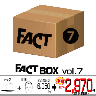 FACT - Box vol.7(FACTグッズ 限定セット/2700)<img class='new_mark_img2' src='//img.shop-pro.jp/img/new/icons29.gif' style='border:none;display:inline;margin:0px;padding:0px;width:auto;' />