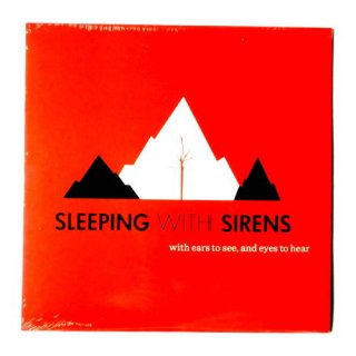 SLEEPING WITH SIRENS -【限定1000/US盤レコード】with ears to see, and eyes to hear Vinyl LP/1000-RED