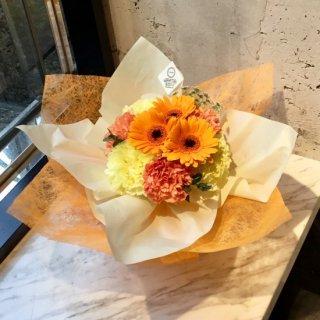 スタンディングブーケ(アプリコットドレス)生花花束 3,000円税抜 ※+本州送料1,000円