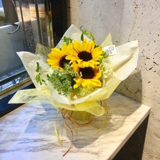 【父の日】スタンディングブーケ(ハッピーサマー)生花花束 3,500円【ありがとう】