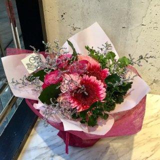 スタンディングブーケ(ピンク紫)送料込5,000円(税抜)【敬老の日】