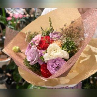 季節のキャンセルフラワー おまかせ花束 ※送料込
