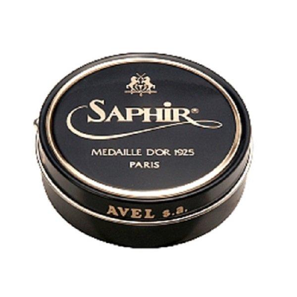 SAPHIR Noir (ノワール) / ブラック / ビーズワックスポリッシュ 50ml