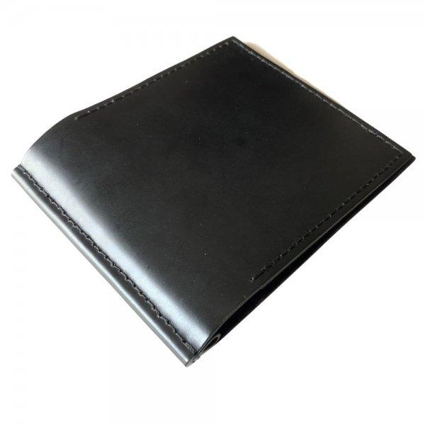 受注Order! Galuchattail & MITSUNORI AOYAGI コードバン (牛革) ブラック 札入れ